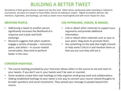 Building a better edu-tweet