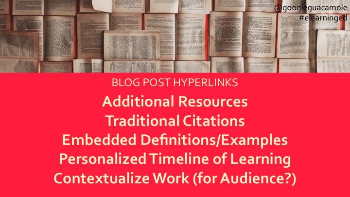 list of hyperlinks