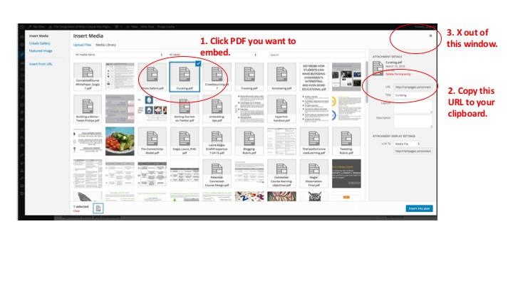using vanilla pdf
